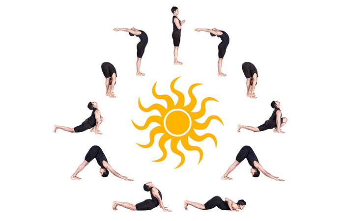 Surya Namaskar for Belly Fat in Hindi