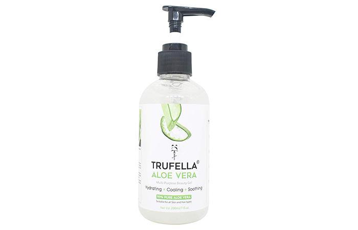 TRUFELLA Crystal Clear Aloe Vera Gel