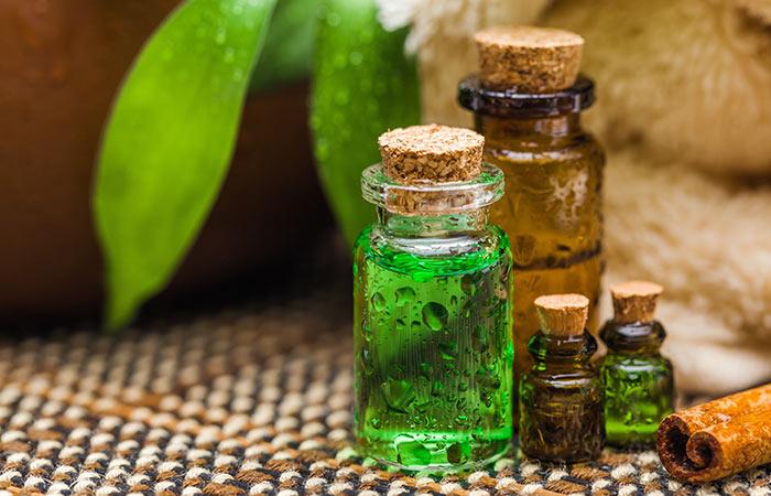Baltod ke liye Tea Tree Oil