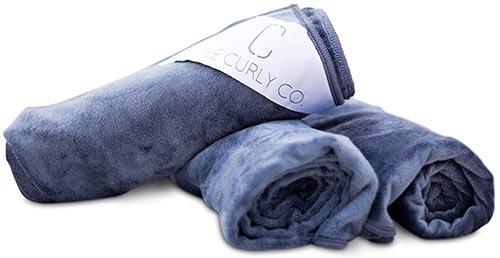 The Curly Co. Premium Microfiber Hair Towel