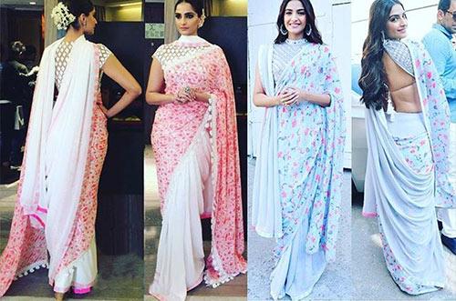 The Double Sari Style