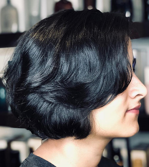 Vintage Wedge Cut