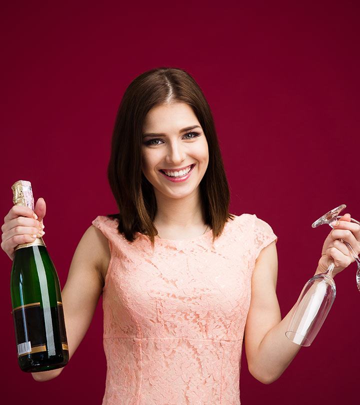 Why I Wash And Style My Hair With Champagne