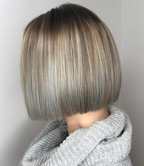 Winter Gray Hair