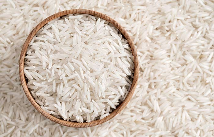 White Rice - Homemade Ice Packs