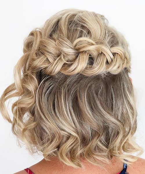 Reverse Braid Crown