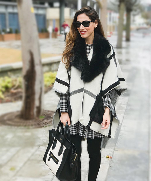 Winter Outfit - Black And White Outfits