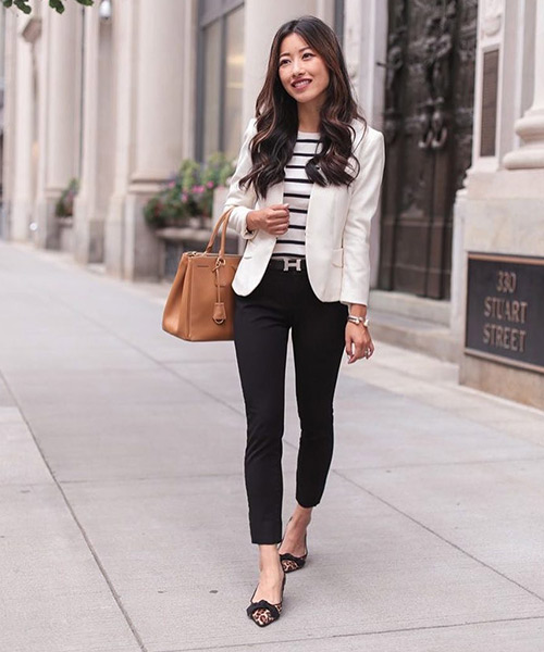 White And Black Preppy Formals - Black And White Outfits