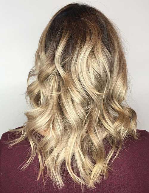 Dark Roots With Blonde Hair
