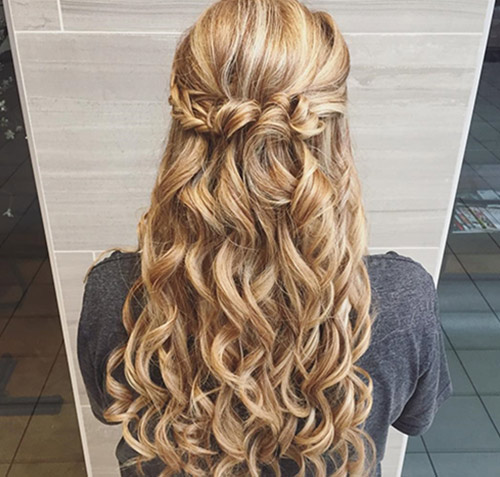 Braided Half Crown