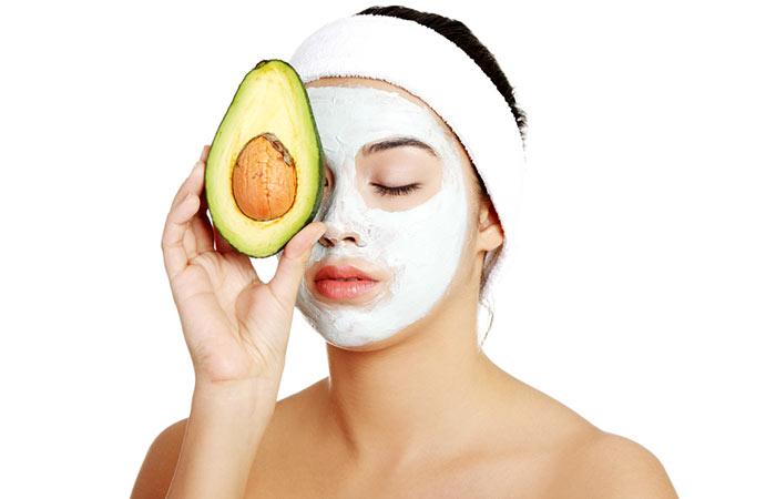 Kaolin Clay And Avocado Face Mask