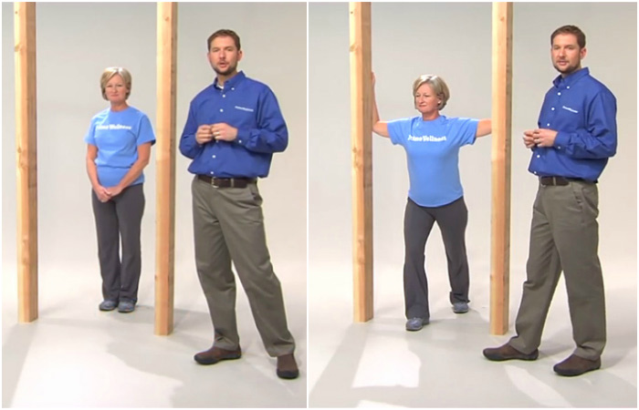 Doorway Stretch - Rotator Cuff Exercises