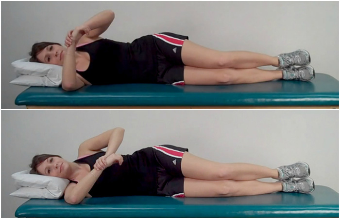 Sleeper Stretch - Rotator Cuff Exercises