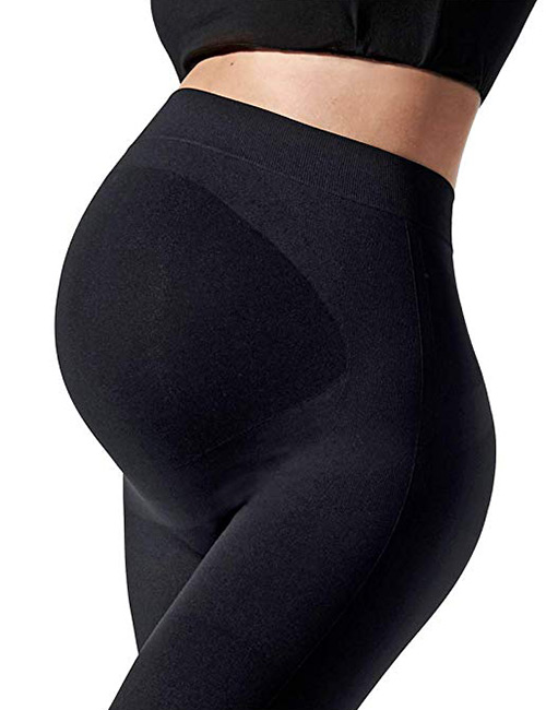 Blanqi Everyday Maternity Belly Support Leggings - Maternity Leggings