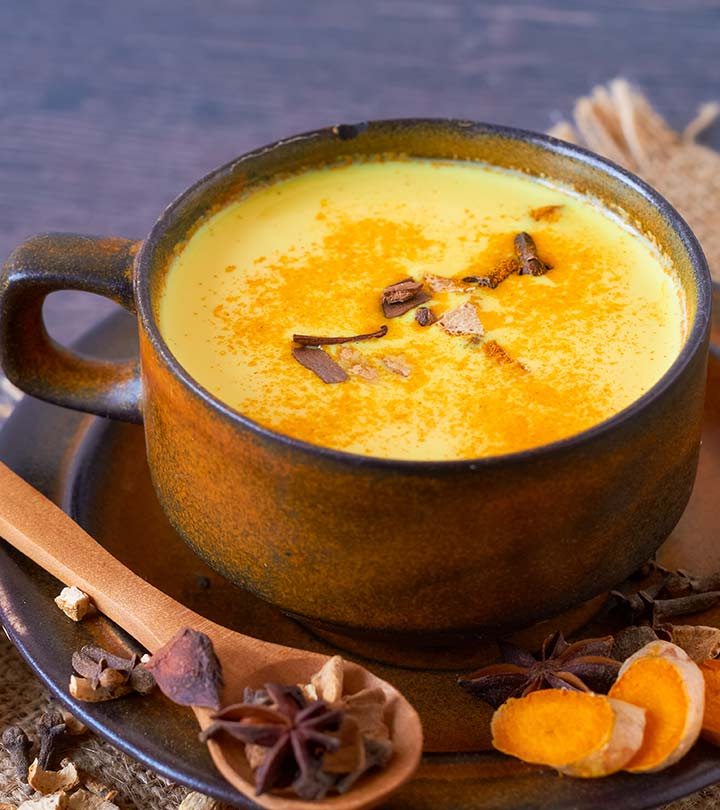 Amazing Benefits Of Turmeric Milk