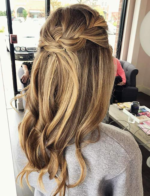 Balayage Crown
