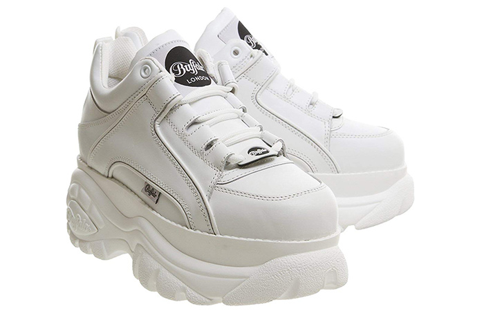 Buffalo Women's 1339 White - White Sneakers