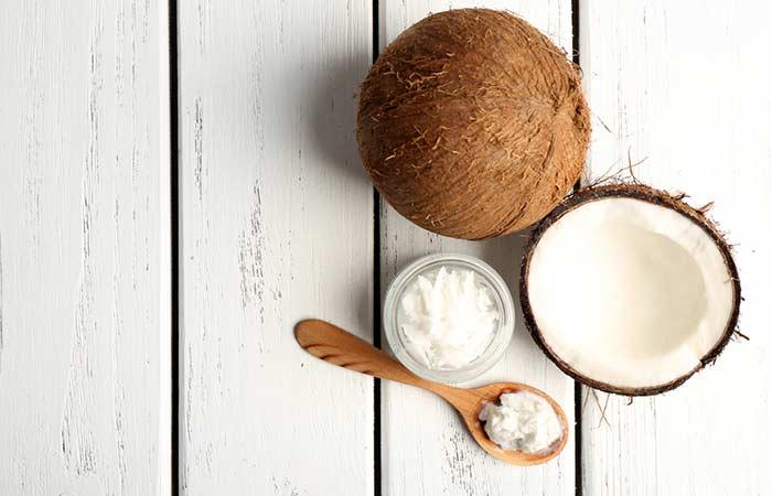 Coconut oil and vitamin-E