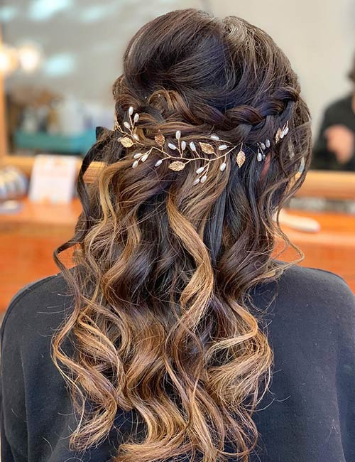 Curly Hair Crown