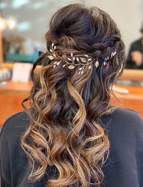 Curly Hair Crown