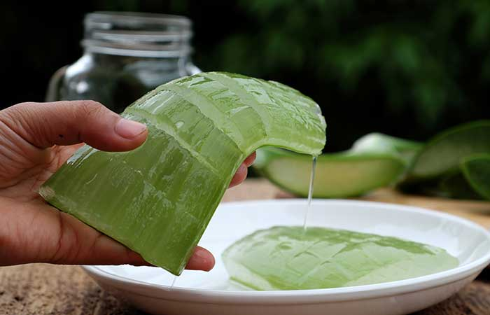 Eggs and Aloe Vera for Hair in Hindi