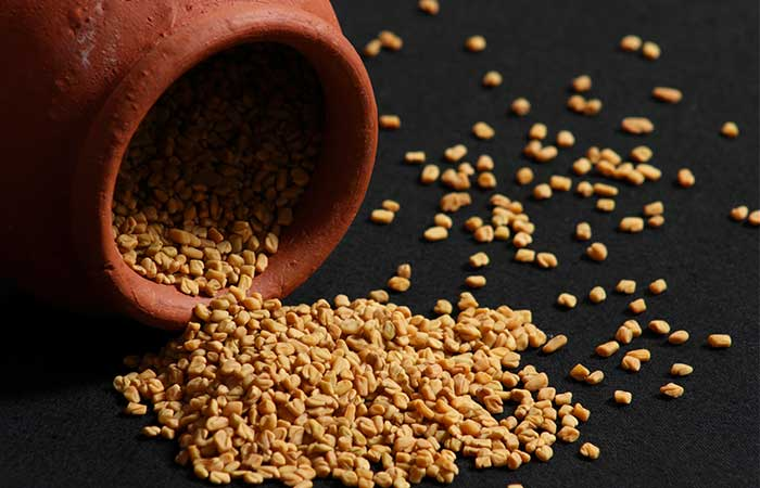 Eggs and Fenugreek for Hair in Hindi