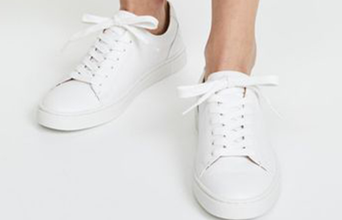 FRYE Women's Ivy Low Lace Sneakers - White Sneakers