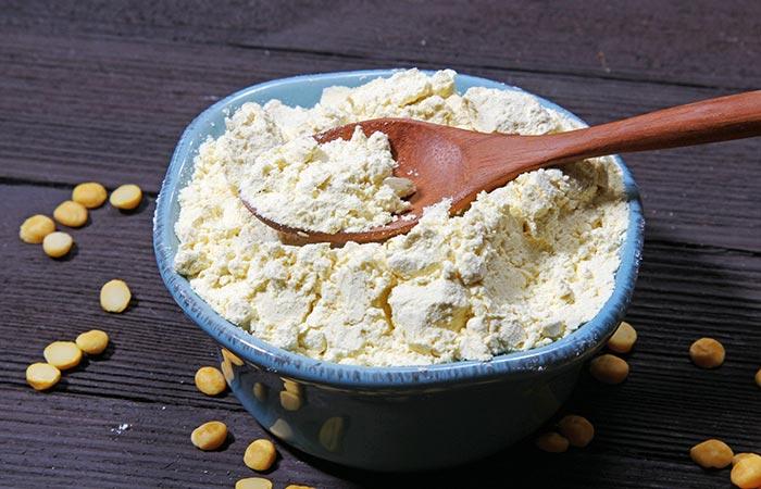 Gram Flour Remedy