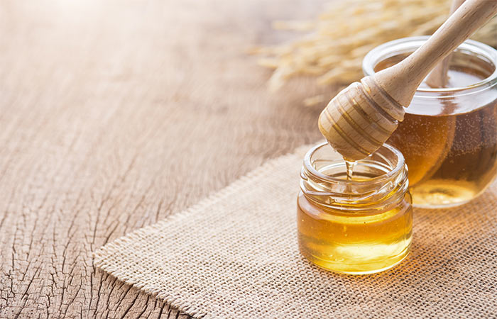 Honey for rustic skin