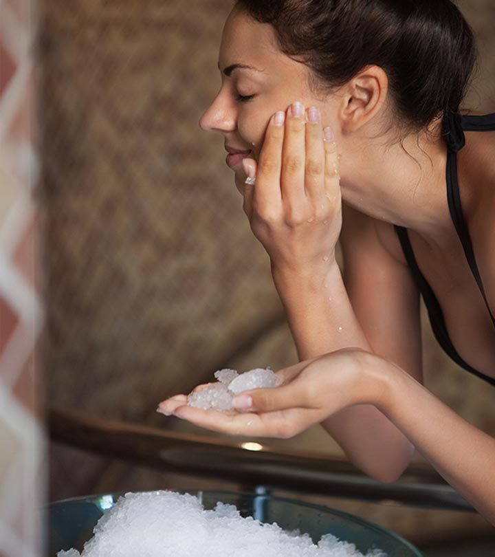 Ice Benefits for Skin in Hindi