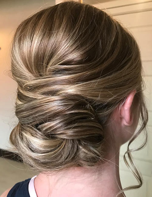 Loose Wrap Updo