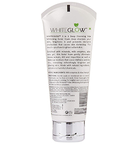 Lotus Herbals Whiteglow 3-in-1 Deep Cleansing Skin Whitening Facial Foam