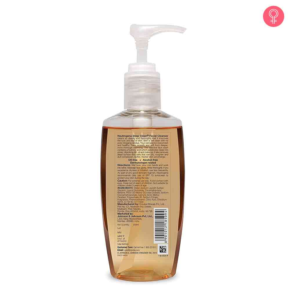 Neutrogena Deep Clean Facial Cleanser-1