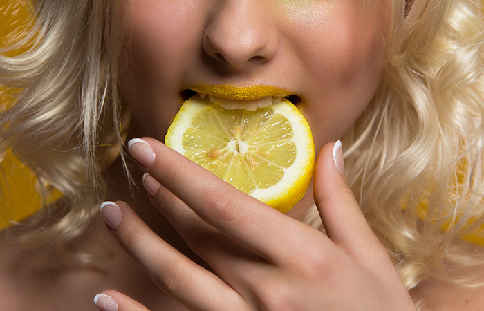 Pick Foods Which Are Sour Like Lemon