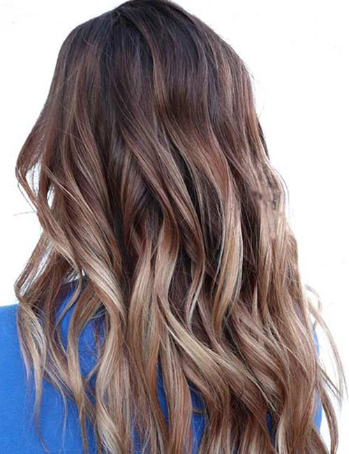 Red-To-Blonde-Ombre