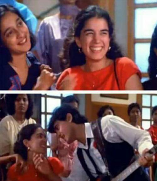 Reena Dutta And Aamir Khan