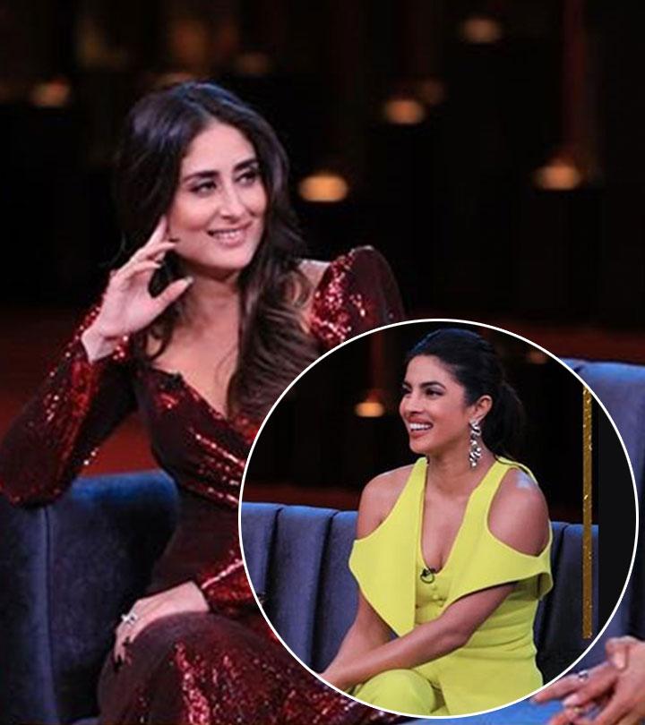 Some Not-So-Polite Things Kareena And Priyanka Spat Out In Koffee With Karan Season 6