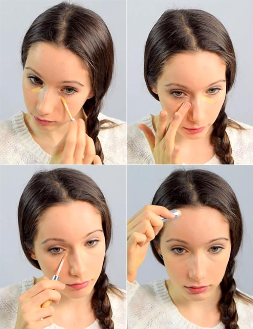 Step 2 Apply Concealer