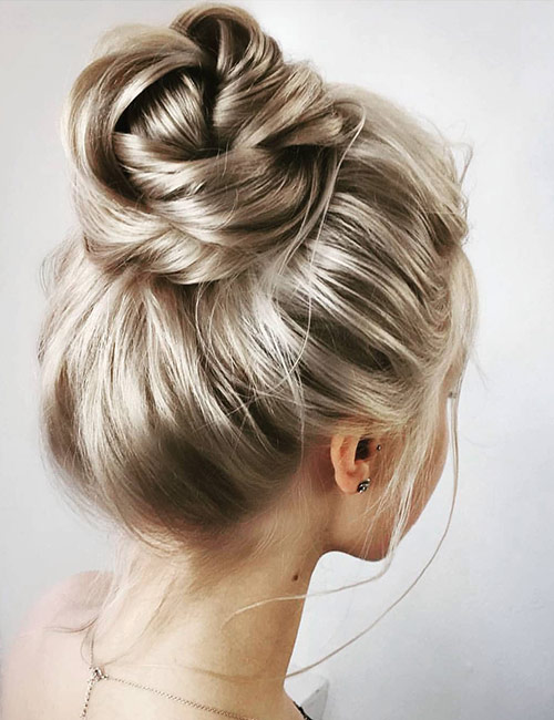 The Classic High Bun