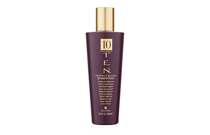 The Science Of Ten Perfect Blend Shampoo