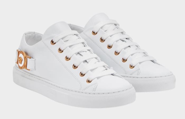 Versace Medusa Tribute Sneakers - White Sneakers