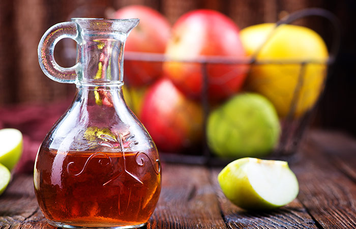 Vinegar bath