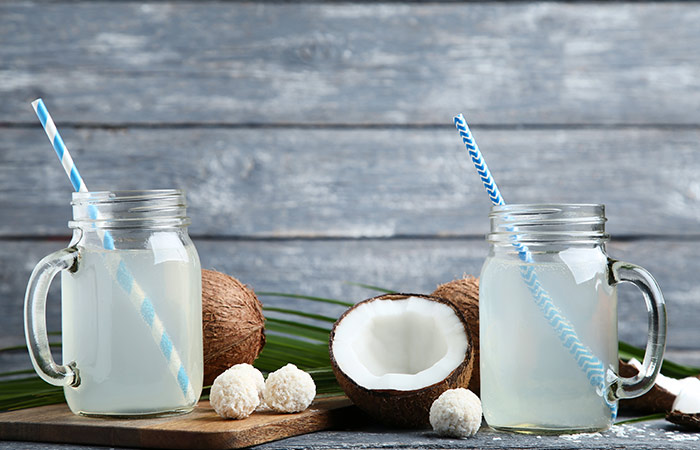 Coconut Water for Gas Problem in Hindi