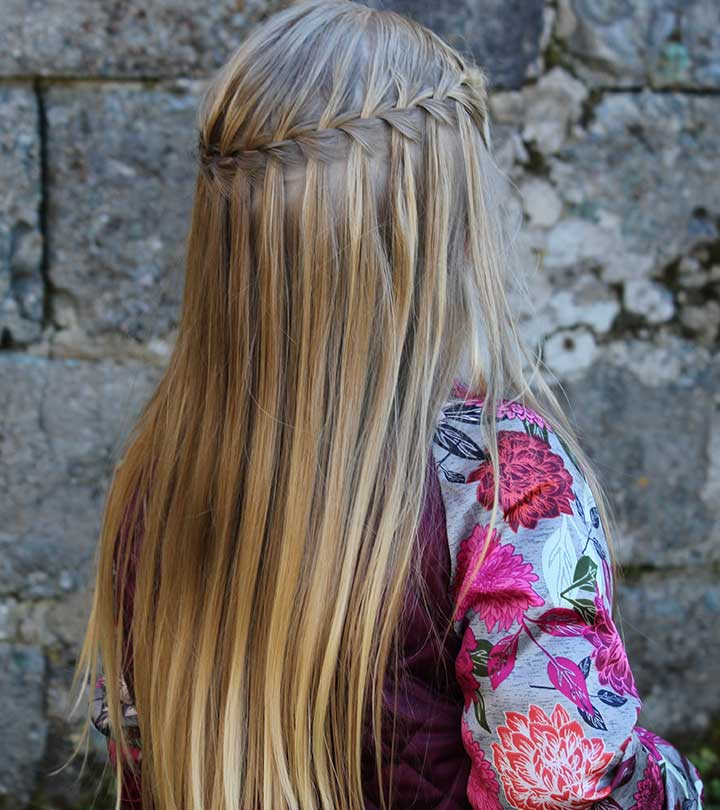 20 Stunning Waterfall Braid Hairstyles