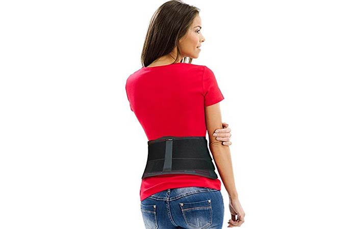 AidBrace Premium Back Brace Support Belt - Best Back Braces