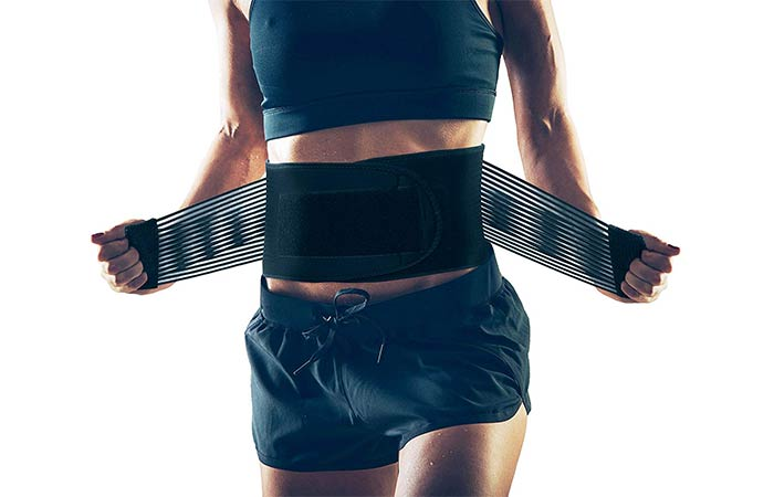 Allyflex Waist Compression Brace - Best Back Braces