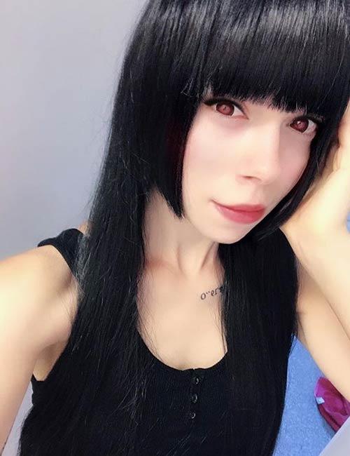 Anime Hime Cut