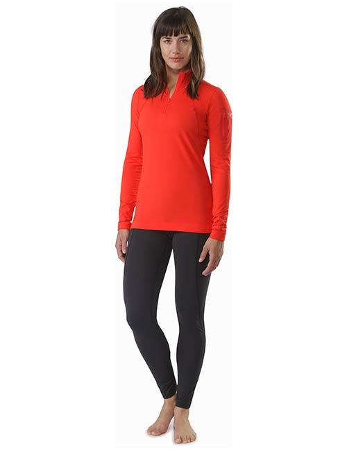 f6d76438a3facc Arc'Teryx Rho LT Zip Neck Women's Thermal Essentials - Thermal Underwear  For Women
