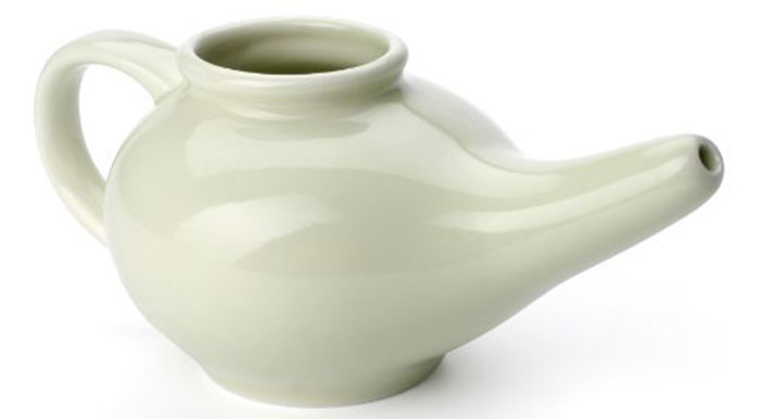 Aromatic Salt Premium Ceramic Neti Pot - Best Neti Pots