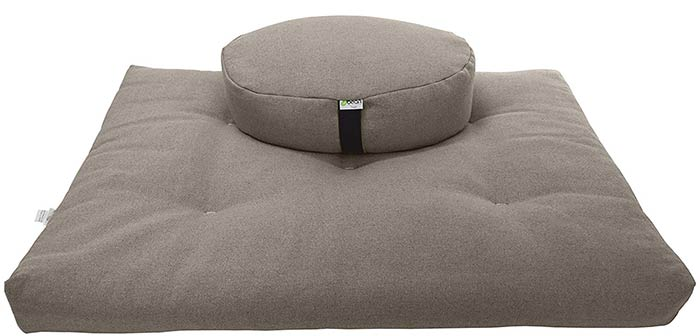 Bean Products Zafu And Zabuton Meditation Cushion Set- Meditation Cushions